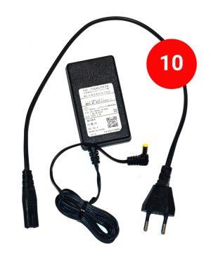 آداپتور Pax d210 بسته 10 عددی آداپتور 12 ولت 2 آمپر-Pax D210